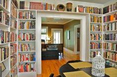 A Casa dos Meus Sonhos...: Biblioteca...