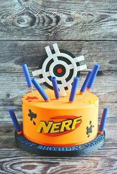 Image result for nerf cake