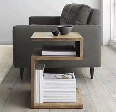 side table // desk // magazine rack hybrid