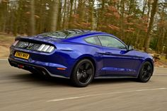 Ford Mustang 2.3 EcoBoost 2016 - rear tracking                                                                                                                                                      More