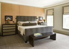 Master Bedroom in a Logan Circle rowhouse