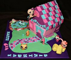 The littlest petshop - by frostedfantasies @ CakesDecor.com - cake decorating website