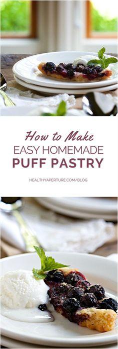 Make homemade puff p
