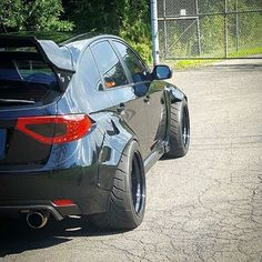 Cool Subaru 2017 - STI with mean widebody...