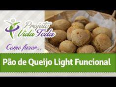 Como fazer Pão de Queijo Light Funcional