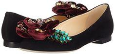 GEDEBE Women's Kira Cane+Vebo 36 Ballet Flats: Amazon.co.uk: Shoes & Bags