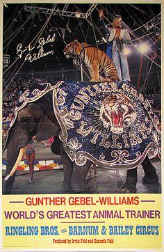 RINGLING BROS. GUNTHER GEBEL-WILLIAMS