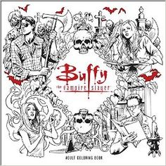 (Coming January, 2017!) Amazon.com: Buffy the Vampire Slayer Adult Coloring Book (9781506702537): Fox: Books