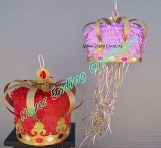 Piñata corona por NeverEndingCreation en Etsy