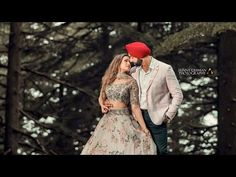 Can't stop ourselves drooling on this Couples Beautiful Pre Wedding Shoot at Singapore. Punjabi Couple, Punjabi Bride, Punjabi Wedding, Wedding Film, Wedding Wear, Wedding Shoot, Wedding Dresses, Bridal Make Up, Wedding Make Up