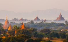 Learn where to explore the world at dawn and see some of the best sunrise photos with the Rough Guides gallery of best sunrise pictures. The Places Youll Go, Places To See, Laos, Vietnam, Sunrise Pictures, Bagan, Places To Travel, Tourism, Beautiful Places