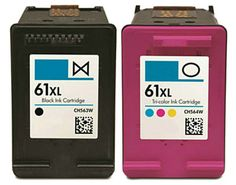 Buy #61XL HY Ink Cartridge 2PK - 1B/1C for HP at Houseofinks.com. We offer to save 30-70% on ink and toner cartridges. 100% Satisfaction Guarantee.