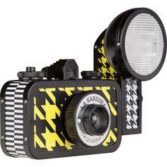 Lomography La Sardina & Flash Quadrat Camera | Yellow/Black