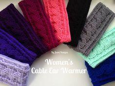 Crochet Headband Patterns Jenni Designs Free Crochet Pattern Womens Cable Ear Warmer Crochet Headband Patterns 12 Free Patterns For Crochet Headbands. Crochet Headband Patterns Lida Headband Ear Warmer Crochet Pattern Pdf The Easy Desi. Bonnet Crochet, Crochet Mittens, Crochet Beanie, Crochet Hats, Crochet Braids, Crochet Headband Free, Free Crochet, Knit Crochet, Crochet Stitches