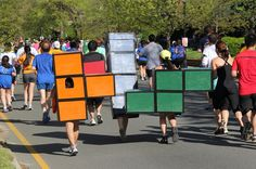 Tetris | 30 Unconventional Two-Person Halloween Costumes