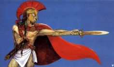Tell Those back In Sparta  by Christos Achilleos