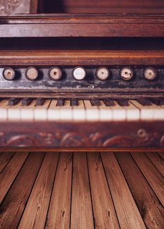 >> Click to Buy << Custom vinyl print cloth brown wood piano photography backdrops for wedding children photo studio portrait backgrounds S-915 #Affiliate