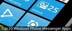 Top 10 Messenger Apps for Windows Phone - #windowsphonemessenger #windowsphonemessengerapps #toptenwpapps