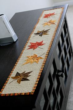 Finished Table runner | Flickr - Photo Sharing!