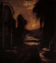The Temple of the Mind by Albert Pinkham Ryder
