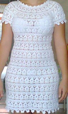vestidode croche - Pesquisa Google