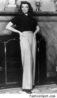 Katherine Hepburn pants