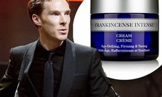 GIRL ABOUT TOWN: Benedict Cumberbatch's £55-a-pot facecream addiction   https://uk.nyrorganic.com/shop/kathygower/area/shop-online/category/moisturisers/product/0598/frankincense-intense-50g/