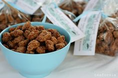 cinnamon roasted almonds - will be making these on Christmas!