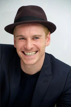 Michael Fassbender love the smile