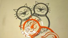 Lime Green or Orange HAPPY CAT get it by by HappyCatShops on Etsy, $38.98
