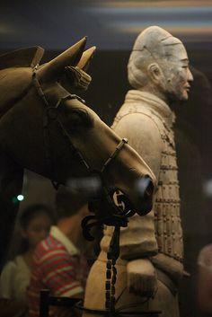 The Terracotta Army is a collection of terracotta sculptures depicting the…