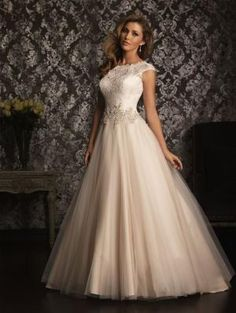 Allure Bridals Wedding Dress Bridal Gown Allure Collection 2013 9022 by lorrie