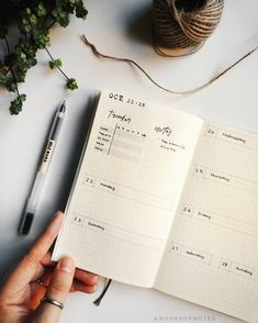 Kat sur Instagram : Another weekly spread in my bullet journal, simple and minimal, with a little more emphasis on the tracker (because I've been questionable…