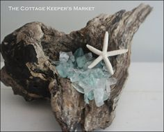 Laguna Driftwood 5 by TheCottageKeepers on Etsy, $36.00