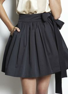 Oscar De La Renta Wrap Skirt