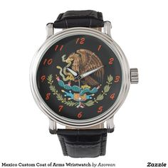 Mexico Custom Coat of Arms Wristwatch