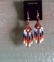 Family Jewels and Silver Inc - Beaded Pow Wow Earrings   Item2069, $20.00 (http://familyjewelsandsilverinc.com/beaded-pow-wow-earrings-item2069/)