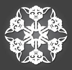 DIY: Star Wars Snowflakes 2015 als kostenloser PDF-Download | KlonBlog