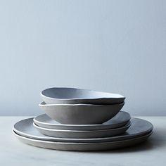 Food52 Linen Textured Dinnerware, by Looks Like White on Food52