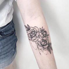 #tattoo #flowers