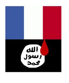 triste Attentat Paris, Sad