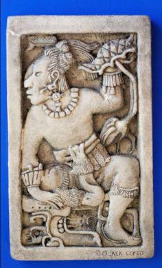 Vestigio maya.  Palenque, Chiapas.