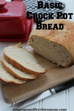 Basic Crock Pot Bread.
