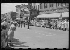 Fourth of July parade, Watertown, Wisconsin, 1941