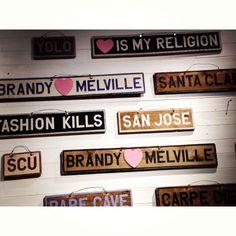 Brandy Melville!