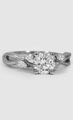 Willow Diamond Ring Platinum