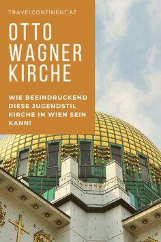 Einblicke in die prachtvolle #Jugendstil #Kirche des Architekten Otto Wagner auf den Steinhof-Gründen in #Wien. Tipps für einen Besuch, Führungen und #Ausflugstipp #kunst #architektur #österreich Kirchen, Architects, Young Adults, Stones, Tips, Kunst