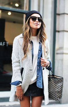 The Ultimate Guide to Layering Your Fall Coat via @WhoWhatWear @gtl_clothing #getthelook http://gtl.clothing