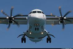 More like a bird of prey than an ATR 72