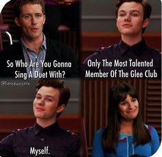 Rachel's face! #glee season 2 episode 4 duets
